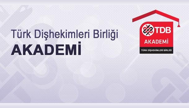 Tdb Akademi Yetkinlik Geliştirme Programı 'Adeziv Restoratif Dişhekimliği'