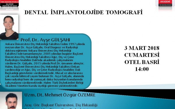 DENTAL İMPLANTOLOJİDE TOMOGRAFİ