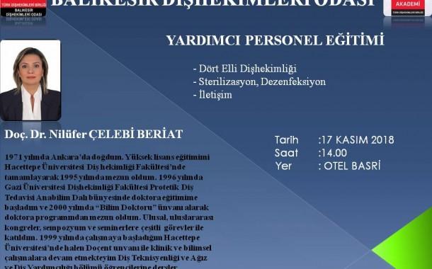 YARDIMCI PERSONEL EĞİTİMİ